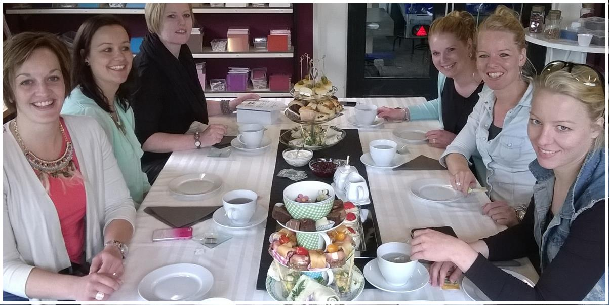high tea workskhop drenthe